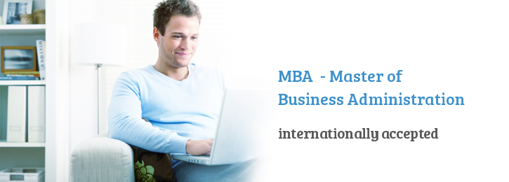 study by distance - MBA